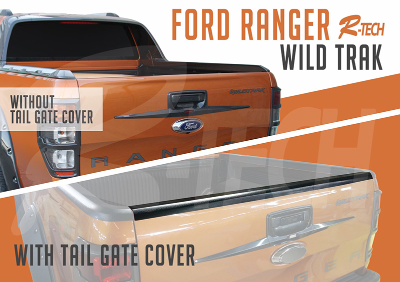 tail gate cover ranger Rtech2